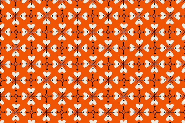 Ruby Star Society Smol by Kimberly Kight Coeur de Fleur Warm Red