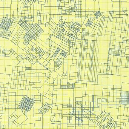 Carolyn Friedlander collection CF - yellow