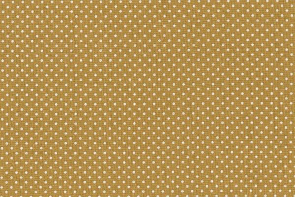 Wachstuch Oilcloth Dots Mustard