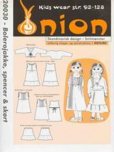 Onion Schnittmuster für Kinder 20030
