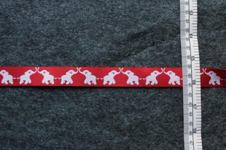 Webband Elephants red
