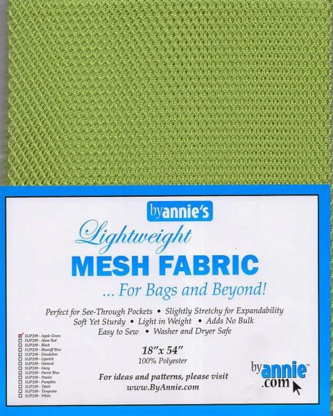 by annie's Mesh Fabric lightweight apple green