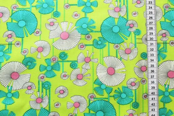 Amy Butler GLOW wind flower sea zest