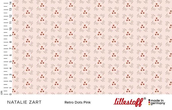 Lillestoff Jersey Retro Dots Natalie Zart