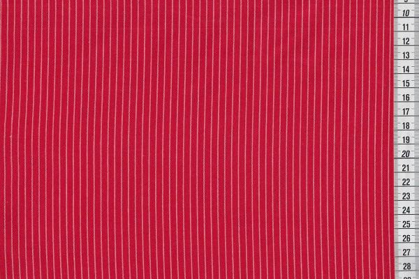 Westfalenstoffe Pompadour Streifen rot