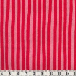 Westfalenstoff Junge Linie Streifen rosa/rot