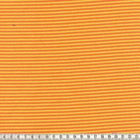 Ringelbündchen Andre gelb/orange