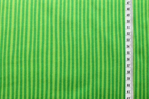 Westfalenstoffe Interlockjersey Junge Linie Streifen grün