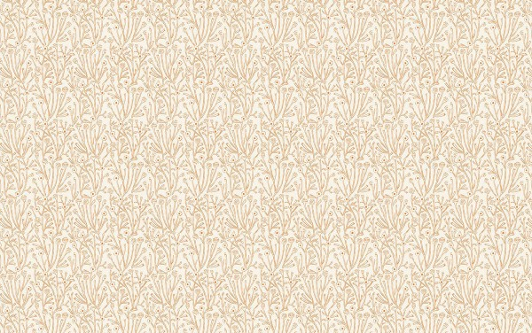 Prickley Pear by Emily Taylor stems beige