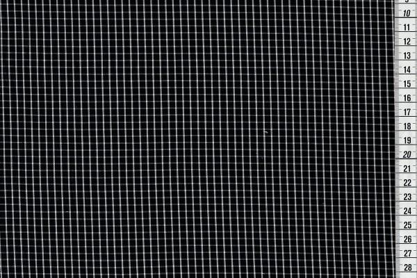 Karo gewebt schwarz