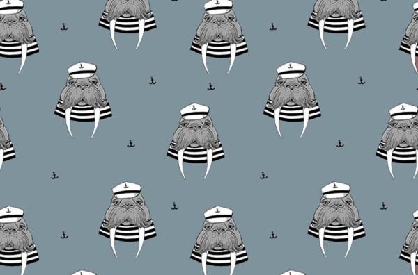 Jersey Captain Walrus dreamblue