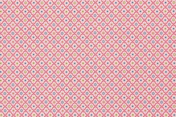 Baumwollwebware Julia Blümchen rosa