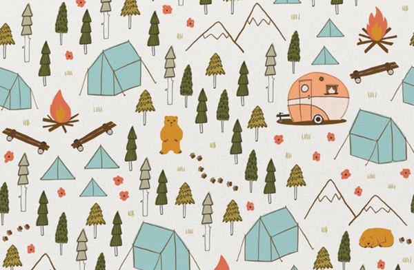 Crissie Rodda Vintage Camping tent