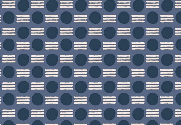Feel the Void by Alex Roda Atomic Kensington Fabric