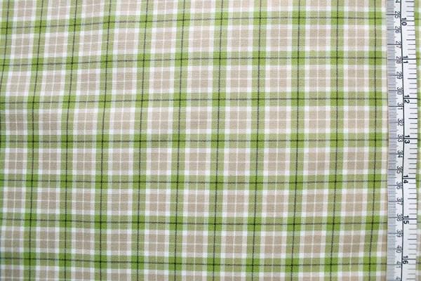 Westfalenstoff Linz Gitterkaro beige grün