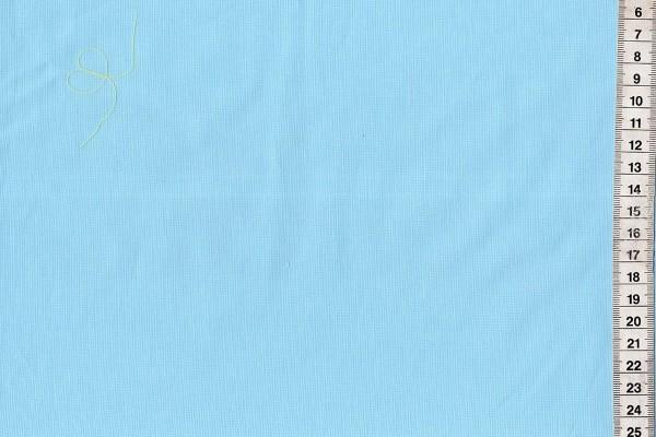 Baumwolle gewebt uni hellblau