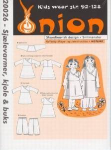 Onion Schnittmuster für Kinder 20026