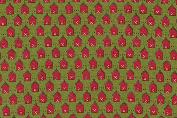 Red Barn Christmas by Sweetwater Design Grass and Red Red Barn
