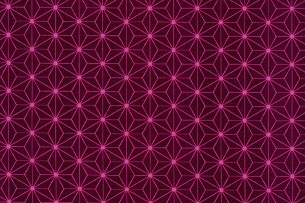 Westfalenstoffe Kopenhagen Sternenblüte bordeaux-rosa