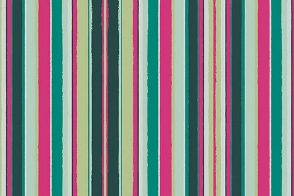 Mister Domestic Angles Loved to Pieces Striped Flow Rainbow