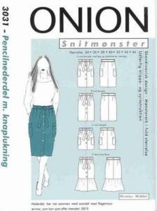 Onion Schnittmuster für Damen 3031