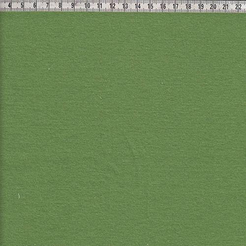 Bündchen glatt grün