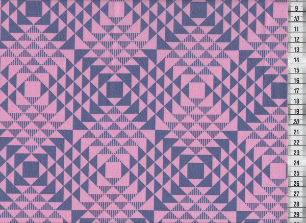 Joel Dewberry Atrium pyramids pink