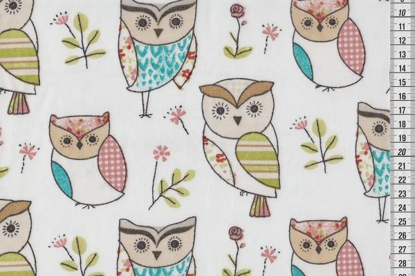 Wachstuch Owls multi
