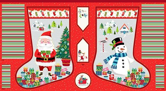 Santa Express Christmas-Stocking-Multi