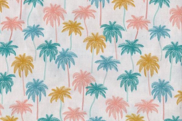 Figo Oasis by Pippa Shaw Palm Trees soft colors