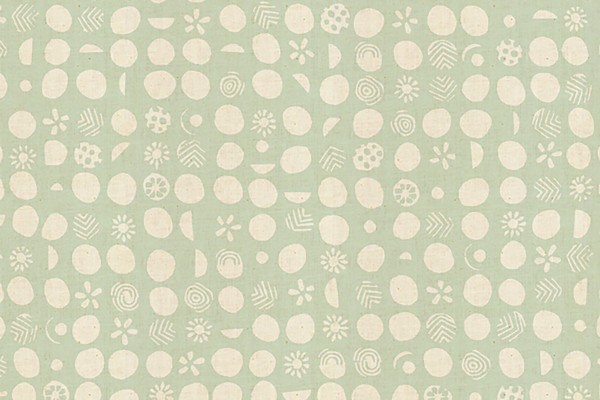 Cotton and Steel Homestead Jeanne McGee Germination Teal