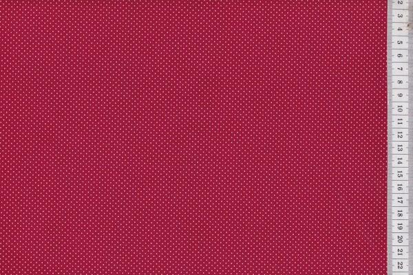 Westfalenstoffe Rosenborg Pünktchen rot