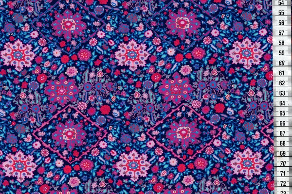 Amy Butler Soulmate Kaleidoscope navy