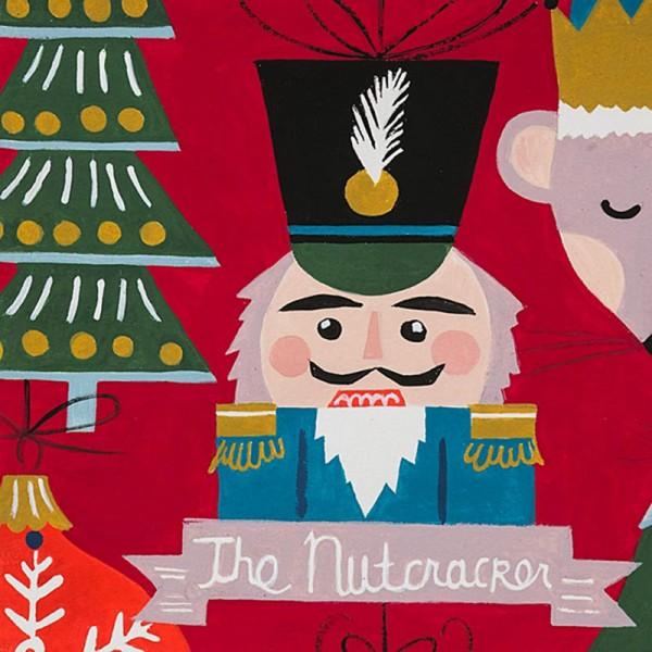 Alexander Henry - Christmas Time The Nutcracker red