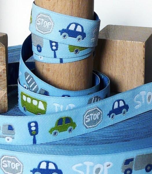 Traffic Webband, blau-grün