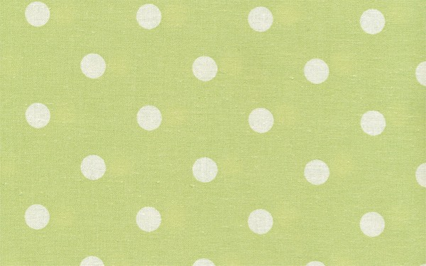 Wachstuch Dots Big Spring Green