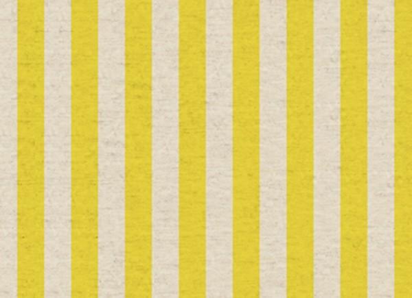 Primavera Rifle Paper Cabana Stripe Canvas Yellow