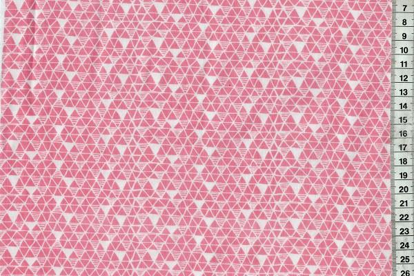 Panda-rama by Maude Ashbury Triangle coral