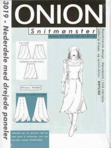 Onion Schnittmuster für Damen 3019