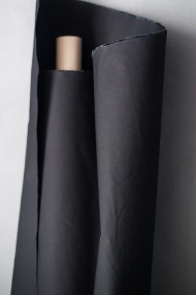 Gewachste Baumwolle (Dry Oilskin) black