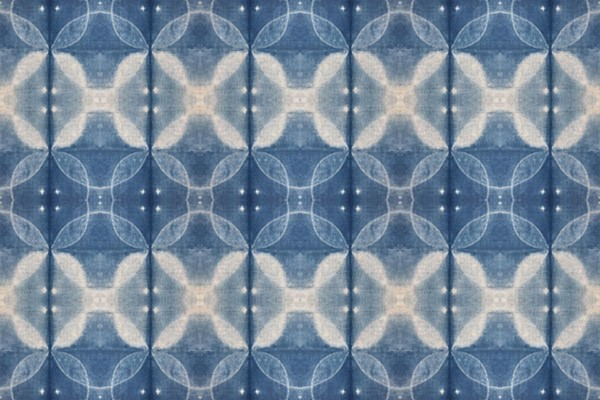 Shirbori Dye indigo by Kim Eichler-Messmer
