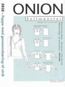 Onion Schnittmuster für Damen 5038
