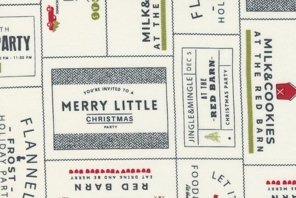 Red Barn Christmas by Sweetwater Design Vanilla and Multi The Invitations