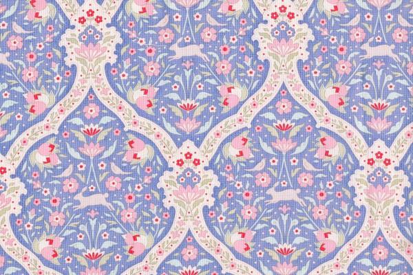 Tilda Bon Voyage Hare Tile Blue