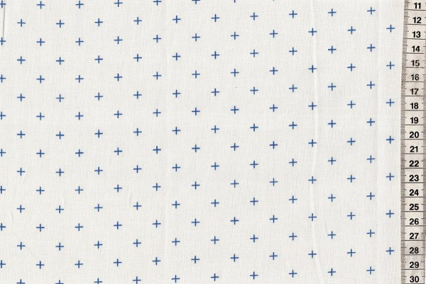 Breeze by Brigitte Heitland Dottie Pluses White Cornflower