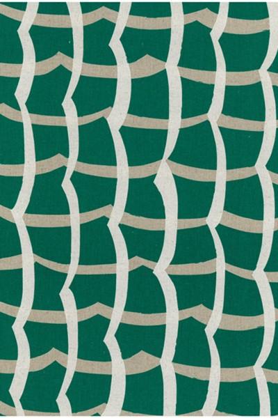 Echino wonky square green