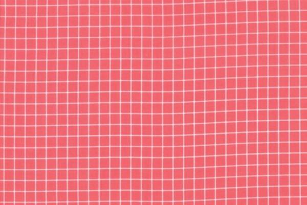 Ruby Star Society Grid strawberry by Kimberly Kight