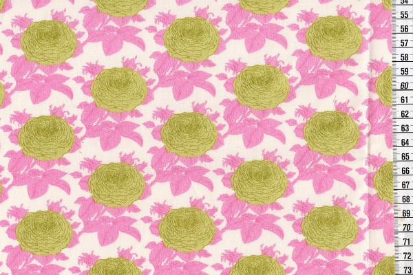 Baumwolldruck Tilda Sunkiss Grandma's Rose pink