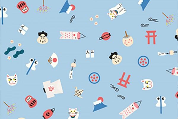 Kingyo by Lemonni Japan Symbols Sky