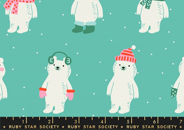Ruby Star Society Flurry Snow Bear Icebox